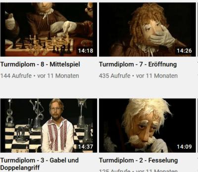 Die Schach-Anfänge im TV